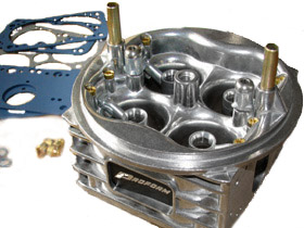 aluminum carburetor body