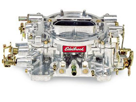 EdelBrock Carb setup for E85
